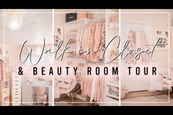 Walk in Closet & Beauty room Tour 2020