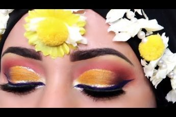 MEHNDI KA Khobsorat Makeup Kesy Kiya jay // Colourfull Mehndi Bridal Eyes Makeup #shadiseason