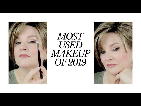 BEST / MOST USED MAKEUP OF 2019 / Detailed Makeup Tutorial for those OVER 50