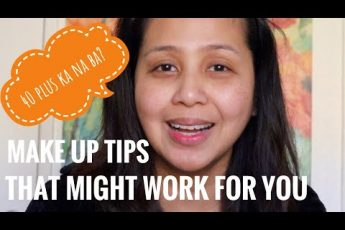 VLOG#98: HOW TO DO YOUR MAKE UP WHEN YOU'RE AT YOUR 40'S