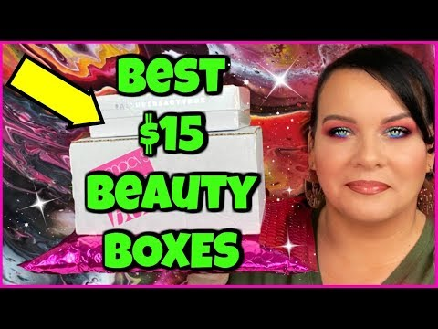 💰 CHEAP BEAUTY/MAKEUP SUBSCRIPTION BOXES THAT ARE WORTH YOUR COINS! January 2020