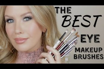 ESSENTIAL EYESHADOW BRUSHES | The BEST Shapes For Small, Hooded Eyes
