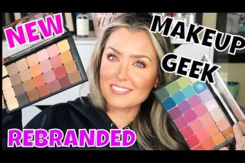 ALL NEW Makeup Geek Cosmetics Rebrand | Tutorial makeup over 40 | HOT MESS MOMMA MD