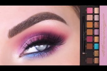 ABH x Amrezy Eyeshadow Palette | Glam Pink & Purple Eye Makeup Tutorial