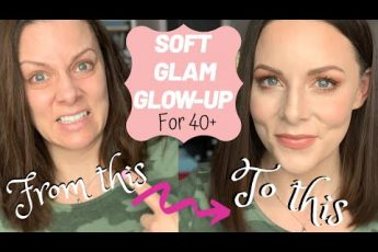 FROM GRIM TO GLAM! | Full makeup & hair how-to | Soft Glam glow-up quick tutorial for over 40s