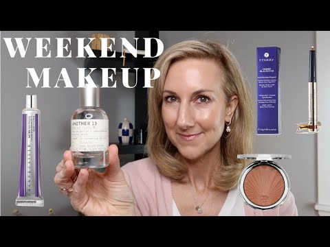 WEEKEND MAKEUP | MY GO-TO EASY MAKEUP ROUTINE | CHANTECAILLE | FITGLOW BEAUTY | LE LABO