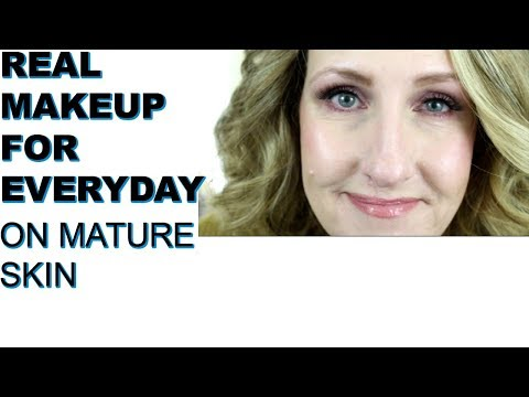 EVERYDAY MAKEUP FOR MATURE SKIN ANNE P MAKEUP AND MORE