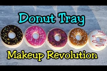 ULTA Beauty / Makeup Revolution Haul and Swatches – The Donut Tray Collection & Loose Highlighters