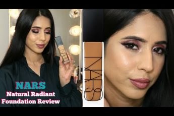 NARS Natural Radiant Longwear Foundation Barcelona Review | MAC NC40| Combination Skin | Arzan Blogs