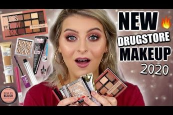 Testing NEW DRUGSTORE MAKEUP 2020 // Maybelline, L'oreal, Rimmel, Revlon & A Perfect DUPE?