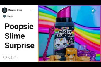 #Poopsie Slime Surprise News: This rare Rainbow Surprise Makeup Surprise comes with shimmery gold
