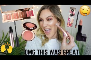 OH DARLING … TRYING NEW MAKEUP   CHARLOTTE TILBURY, FENTY BEAUTY + MORE
