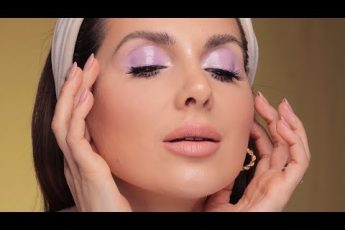 HOW TO: LAVENDER GLOSSY EYE MAKEUP LOOK | ALI ANDREEA