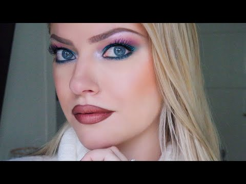 Colorful smokey eye for hooded eyes – Makeup by Myrna