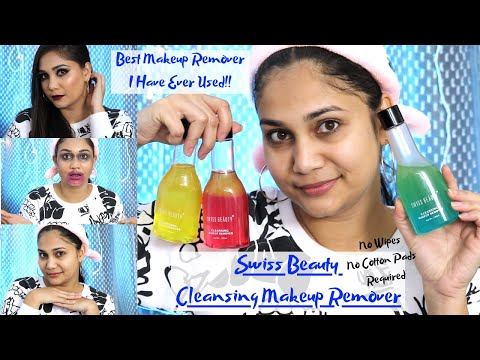 Swiss Beauty Cleansing Makeup Remover | Best & Affordable | #3minuteReview | Nidhi Katiyar