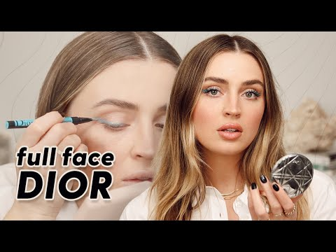 FULL FACE USING DIOR MAKEUP