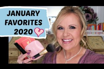 JANUARY FAVORITES 2020   BEST IN BEAUTY   MAKEUP OVER 50