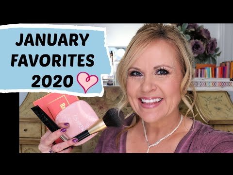 JANUARY FAVORITES 2020 | BEST IN BEAUTY | MAKEUP OVER 50