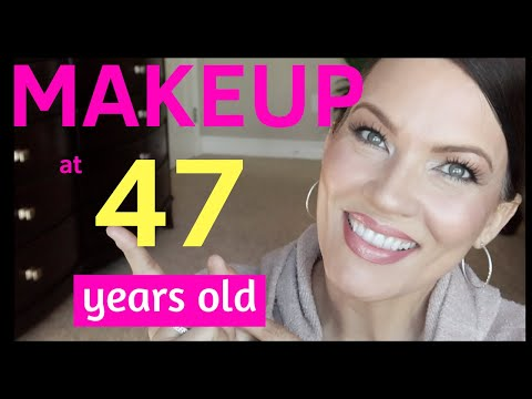 My FAVORITE MAKEUP for MATURE SKIN – HOODED EYES, CONCEALER CREASING, WRINKLES, LIFT EYES, BIG LIPS