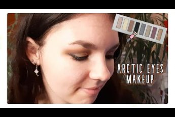 💄 Arctic eyes makeup