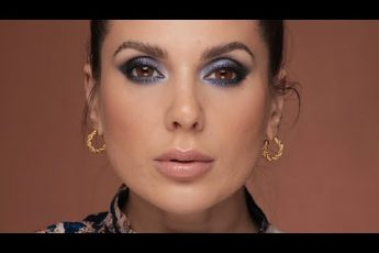 BLUE SMOKEY EYES MAKEUP TUTORIAL | ALI ANDREEA