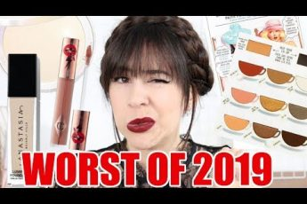 Worst Makeup & Skincare of 2019 || Beauty with Emily Fox