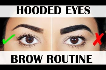 HOW TO: HOODED EYES EYEBROW TUTORIAL | BEGINNER FRIENDLY