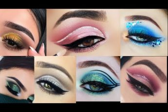 Green pink yellow blue and more beautiful colour Most Trending Eyes MakeUp Ideas Collection