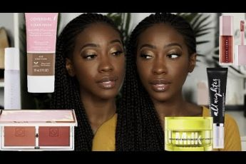 Trying NEW (To Me) Makeup Releases | Fenty, Covergirl, Milk Makeup + More | Too Much Mouth
