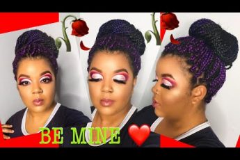 Detailed Cut-Crease Makeup Tutorial For Hooded Eyes|Valentines Day Makeup 2nd Look