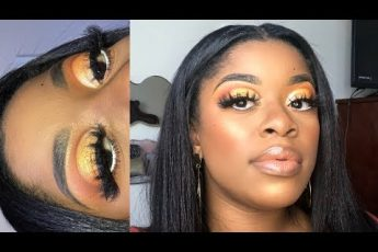 SUNSET EYES MAKEUP TUTORIAL | Nyilah Colemon
