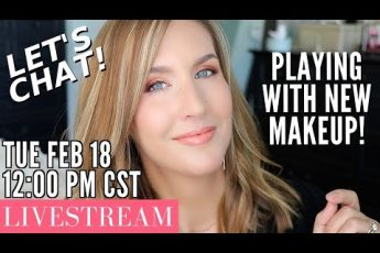 Livestream! Playing with NEW MAKEUP! Let's CHAT!