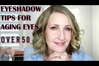 HOW TO APPLY SHADOW TO AGING EYES ANNE P MAKEUP AND MORE