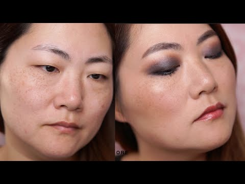 EFFORTLESS SMOKEY LOOK ON ASIAN MONOLID EYES MAKEUP TUTORIAL I Futilities And More