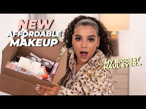 HUGE Affordable Makeup Haul 2020!
