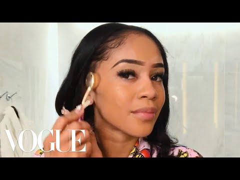 Saweetie's Energy-Boosting Skin Care Routine | Beauty Secrets | Vogue