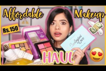 HUGE Affordable Makeup Haul! Starting at Rs150 | Swiss Beauty New Launches | Anindita Chakravarty
