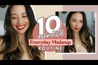 Quick, Easy 10 Minute Everyday Makeup Look | Clean Beauty | Aja Dang