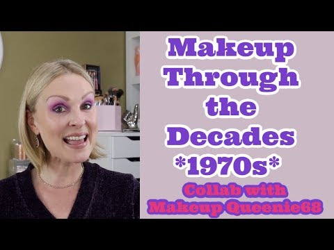 Makeup Through the Decades *1970s Makeup Look* Collab with Makeup Queenie68