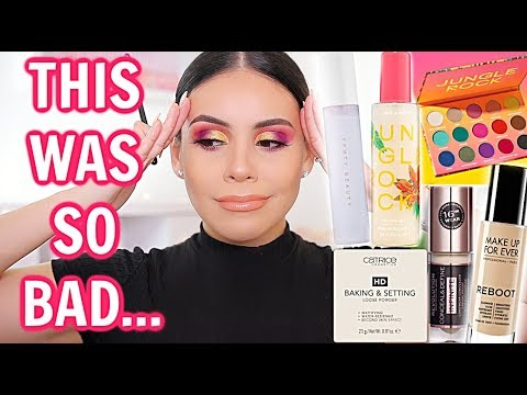 TESTING HOT NEW MAKEUP: FULL FACE FIRST IMPRESSIONS…this was another FAIL
