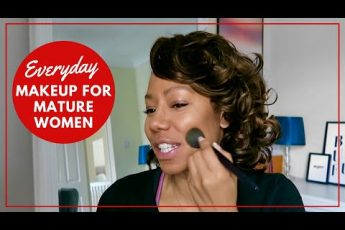 Everyday Makeup Tutorial For Women Over 40   Time With Natalie