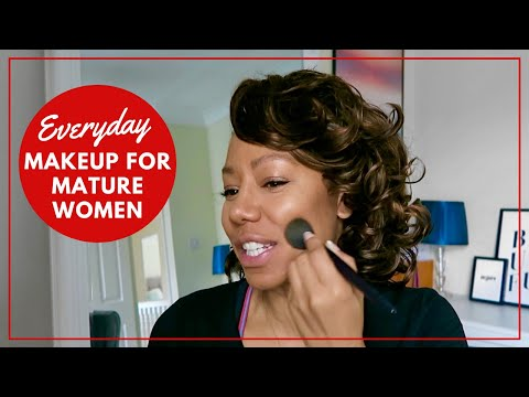 Everyday Makeup Tutorial For Women Over 40 | Time With Natalie