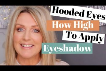 Mature Hooded Eyes – How High to Go With Your Eyeshadow